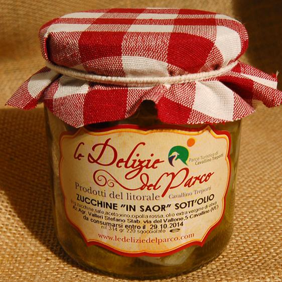 Zucchine in Saor sott'olio